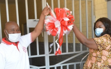 Ribbon cutting ceremony in Mzimba
